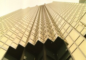 Royal Bank towers in Toronto feature windows that are covered with 24-carat gold coating.