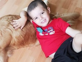 Dylan Thebo, who was allegedly shot and killed by his father in murder-suicide.