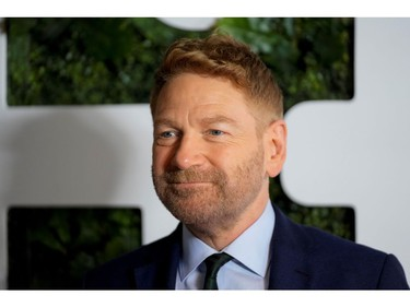 Director Kenneth Branagh poses as he arrives for the premiere of Belfast at the Toronto International Film Festival (TIFF) in Toronto, Ontario, Canada September 12, 2021.  REUTERS/Mark Blinch