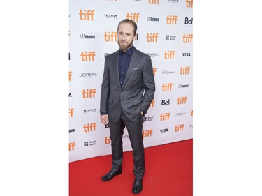 """Actor Ben Foster arrives for the premiere of """"The Survivor"""" at the Toronto International Film Festival (TIFF) in Toronto, Ontario, Canada September 13, 2021.  REUTERS/Mark Blinch"""