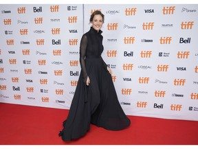 Actor Vicky Krieps arrives for the premiere of