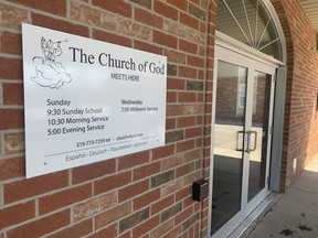 The Church of God in Aylmer (Dale Carruthers/The London Free Press)