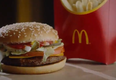 A screengrab of the McPlant burger available in the U.K.