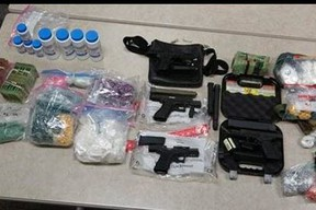 Items seized by Durham Regional Police in drug investigation Project Econoline.