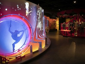 An exhibition called It's Circus Time! opens Wednesday at Pointe-à-Callière museum.