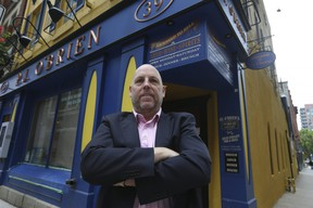 Pat Quinn Jr., owner of P.J. O'Brien Irish pub and Restaurant on Colborne St., is gearing up to re-open this week after a long hiatus due to the pandemic.
