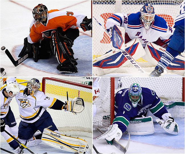 The NHL Playoff Preview goalie rankings.