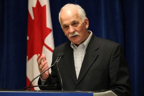 Canada's public safety minister and Manitoba MP Vic Toews. (Winnipeg Sun files)