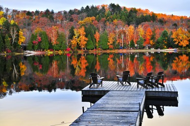 National Historic Site: Algonquin Provincial Park. Province: Ontario. Year recognized: 1992. Quick fact: Ontario's oldest, largest and best known Provincial Park. There are an estimated 2,500 lakes within the boundaries of Algonquin Provincial Park. (Shutterstock)