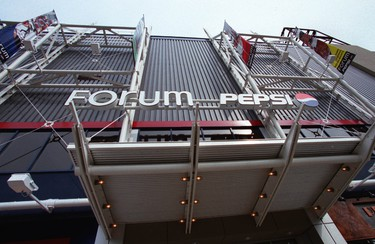 National Historic Site: Montreal Forum. Province: Quebec. Year recognized: 1997. Quick fact: The Montréal Forum is a large, indoor hockey arena and arguably the country's most famous sporting venue. (Doug Peterson/Postmedia Network)