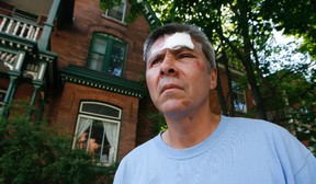 Hugh Styres, 51, suspects he was the victim of undue police violence at the hands of two Ottawa cops. Even though he doesn't remember any of the altercation, he intends to sue the police. DOUG HEMPSTEAD/Ottawa Sun