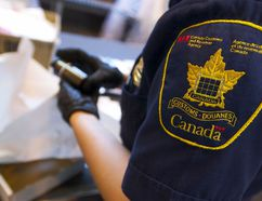A Canadian Customs agent. (Ernest Doroszuk/QMI Agency)