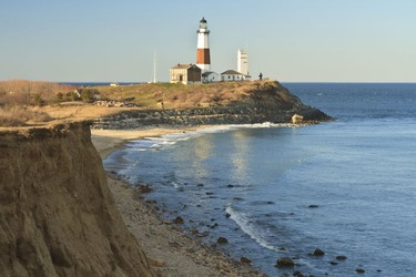 Montauk Point, New York: Montauk Point, a glacial cliff on the east coast of Long Island, provides a fishing retreat for New Yorkers, Philadelphians, Bostonians - and everyone in between. Thankfully charter groups that take you out come equipped with experienced captains who know what they're doing. Bring the family to reel in tuna, striped bass and shark that swim the eastern shore of the United States. Remember to bring a cooler: your finest catches can serve as dinner after a sun-filled day on the high seas. (Shutterstock)