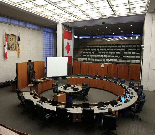City of Winnipeg council chamber