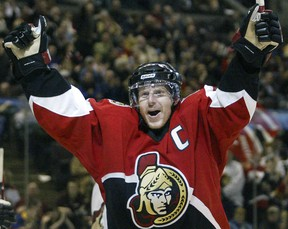 Senators captain Daniel Alfredsson is sure to be one of the captains for the all-star game in Ottawa.