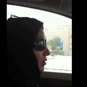 Manal Al-Sharif, 32, was arrested and detained for 10 days last May after posting a YouTube video of herself at the wheel of a car.
