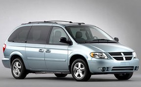 A file photo shows a silver Dodge Caravan, which resembles the van the girl says she was assaulted in.