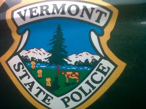 The Vermont State Police emblem is pictured in this undated handout photo received by Reuters on February 2, 2012 from the Vermont State Police. (REUTERS/Vermont State Police/Handout)