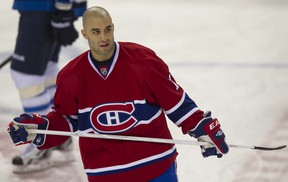 Scott Gomez scored his first goal in more than year for the Habs on Thursday. (QMI file photo)