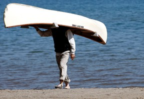 Does the city really need to spend $40,000 so this man can dock his canoe? QMI AGENCY FILE PHOTO