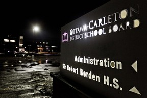 Headquarters of the Ottawa-Carleton District School Board on Greenbank Rd. (ERROL McGIHON/OTTAWA SUN FILE PHOTO)