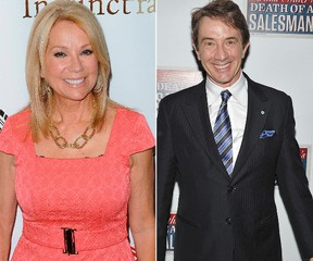 Kathie Lee Gifford and Martin Short (AFP photos)