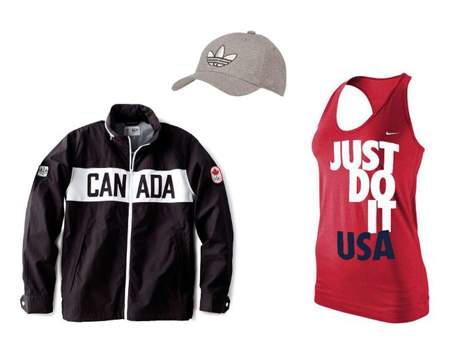 Check out our favourites from Canada's official Olympics collection and the top looks sports fans can purchase for the U.S. and Great Britain teams - our biggest fashion competition.