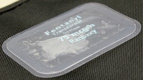 Fentanyl patch. (File Photo)