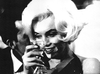Marilyn Monroe at her last public appearance (a party in California) before her death. (WENN)
