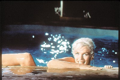Marilyn Monroe during filming of Something's Got To Give, the movie she was working on when she died. (QMI AGENCY FILE)