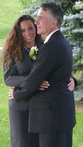 Handout photos show Kelli-Jo Smith (L) and Sean Mahoney (R) victims of a crash in Calgary, AB early August 12, 2012. Smith, 38, who died at the scene, was a passenger in a Ford pickup truck police say was struck by a Mercedes at the intersection of of Sarcee Tr. and Bow Tr. S.W. at about 3:16 a.m. August 12, 2012. The 27-year-old driver of the Mercedes received minor injuries. Courtesy Global Calgary.