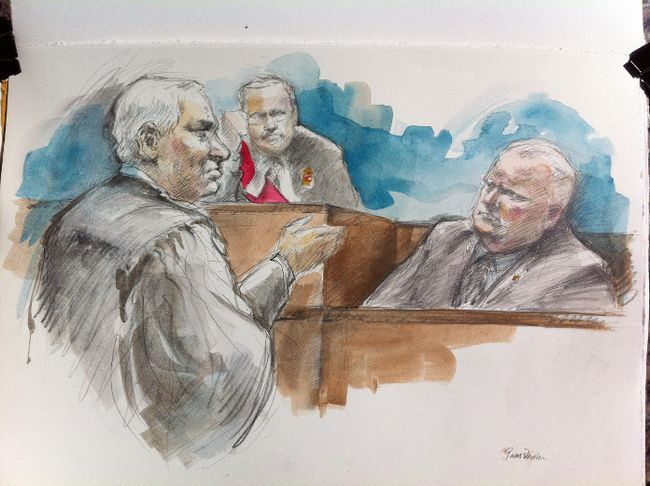 Rob Ford conflict sketch 060912