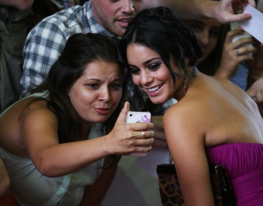 Vanessa Hudgens on the red carpet at TIFF for the movie Spring Breakers at the Ryerson Theatre, Friday September 7, 2012. (Craig Robertson/QMI Agency)