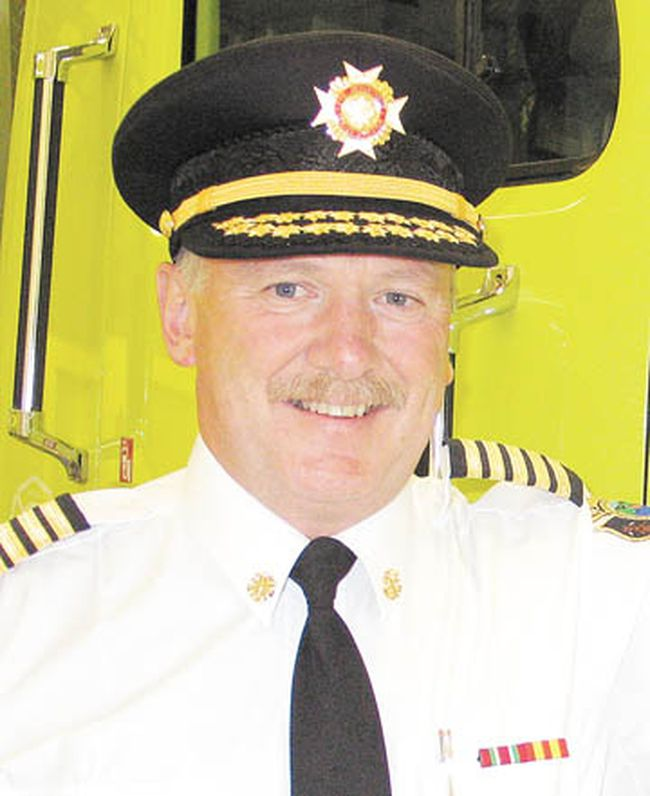 Petawawa Fire Chief Steve Knott