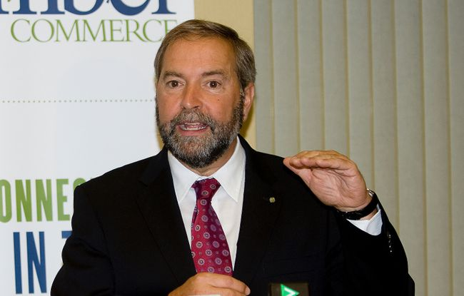 NDP Leader Thomas Mulcair (DEREK RUTTAN, The London Free Press)