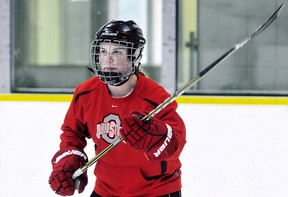 Hokey Langan of Chatham is the new captain for the Ohio State Buckeyes. (Daily News File Photo)