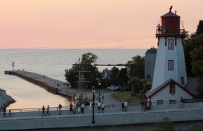 Kincardine, Ontario is a tourism hot spot on Lake Huron's shoreline, about three hours northwest of Toronto. Kincardine Lighthouse is one of the many attractions, along with the Phantom Piper that pipes down the sun during the summer months. (TROY PATTERSON/KINCARDINE NEWS