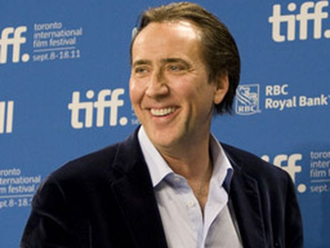 "Nicolas Cage at the Toronto International Film Festival promoting their movie ""Trespass"" at the Bell Lightbox press conference on Sept, 14, 2011. (Stan Behal/QMI Agency)"