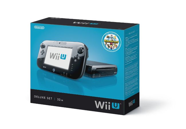 The Nintendo Wii U Deluxe comes with 'Nintendo Land' included. (Nintendo/HO)
