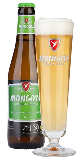 A recent addition to gluten-free beer market is Mongozo Premium Pilsener, which is a product of the Huyghe Brewery in Belgium. The beer is not only gluten free but fair trade and organic. (Supplied)