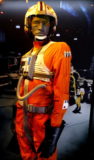 A Luke Skywalker costume is seen at the STAR WARS Identities: The Exhibition, that opens at the Telus World of Science in Edmonton, Alberta on Saturday October 27, 2012 and runs until April 1, 2013. The interactive  multimedia Star Wars exhibit has on display a vast collection of production used Star Wars props, costumes, models, and artwork from the Lucasfilm Archives. TOM BRAID/EDMONTON SUN /QMI AGENCY