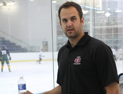 Kingston Voyageurs coach Colin Birkas. (Whig-Standard file photo)
