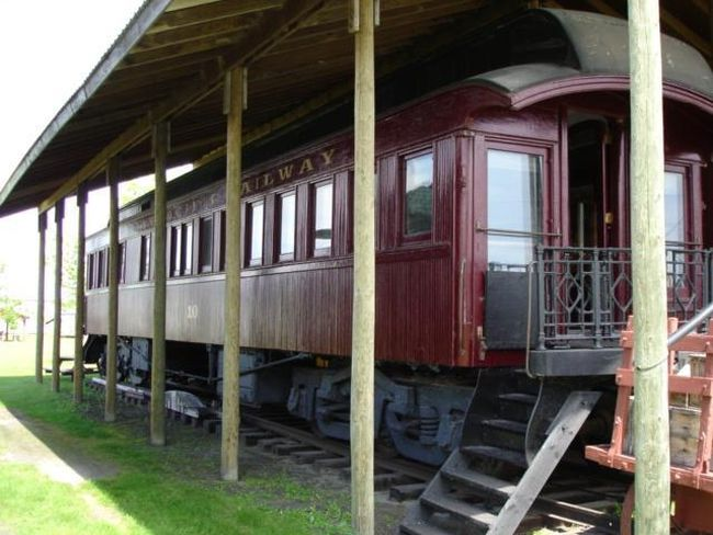 The Fort la Reine Museum is competing in the Aviva Community Fund competition where it hopes to receive funding to restore Le Rideau, the personal rail car of Sir William Van Horne, general manager of the Canadian Pacific Railway. Voting ends on Nov. 26. (SUBMITTED PHOTO)