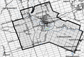 Federal Electoral Boundaries Commission  A revised proposal to redraw the federal Brant riding is the subject of a hearing today in Cambridge.