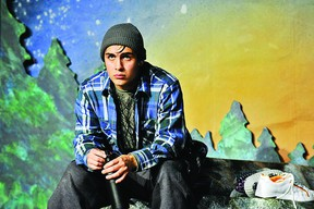Raes Calvert stars in Green Thumb Theatre's production of Out In The Open, which will take place at the Grand Theatre Nov. 27.     Contributed photo