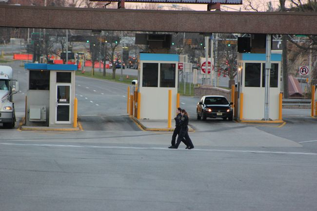 Canadian border crossing. (File photo)