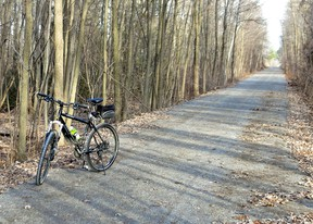 The Lang-Hastings Trail, roughly 33 kilometres, links Peterborough's trails with the Trans-Canada Trail in Eastern Ontario.  SUBMITTED PHOTO