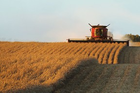 Farm machinery management is often a balancing act between timeliness of operations and excess capacity. (File photo)