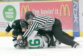 No matter why a penalty is called a team must be prepared as that time can make all the difference between winning and losing. The Drayton Valley Thunder has had great success when it comes to penalty kills and the power play so far this season.