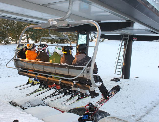 Blue Mountain Resort.